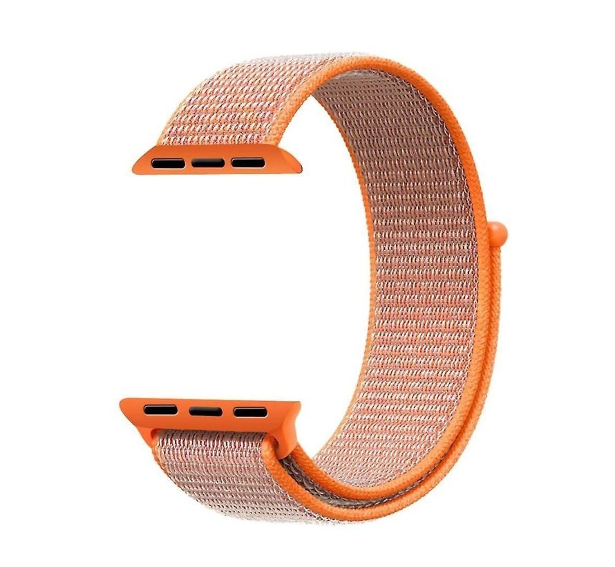 Apple Watch nylon  band (oranje)