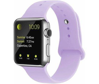 Strap-it® Strap-it® Apple Watch silicone band (lila)