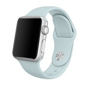 Apple Watch sportband (lichtblauw)
