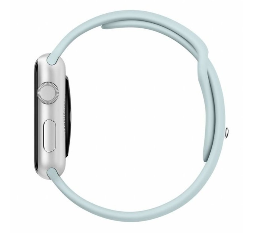 Strap-it® Apple Watch sportband (lichtblauw)