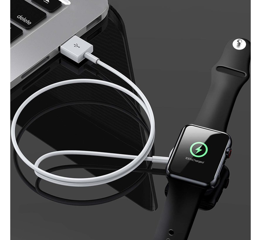 Strap-it® Apple Watch oplader / oplaadkabel