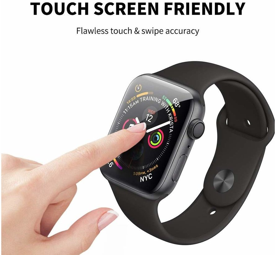 Strap-it® Tempered Glass Screenprotector Apple Watch