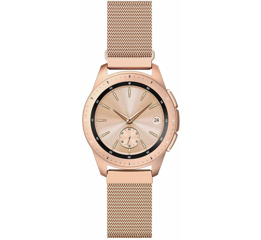 Samsung Galaxy Watch Milanese band 42mm (rosé goud)