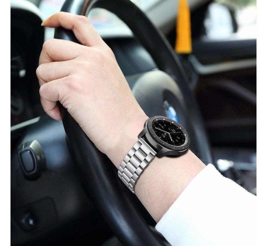 Samsung Galaxy Watch stalen band 42mm (zilver)
