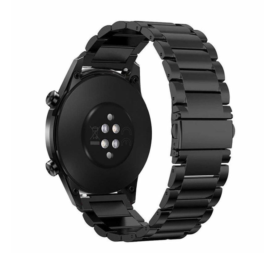 Huawei Watch GT stalen band 46mm (zwart)