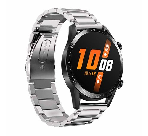Huawei Watch GT stalen band 46mm (zilver)