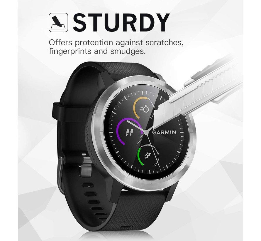 Strap-it® Garmin Vivoactive 3 screen protector tempered glass