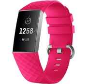 Fitbit Charge 4 silicone band (knalroze)