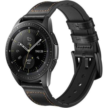 Samsung Galaxy Watch 42mm bandjes leer