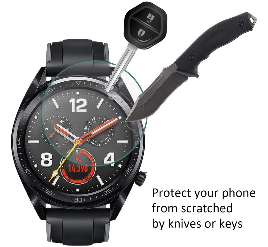 Huawei Watch GT screen protector tempered glass (42mm)