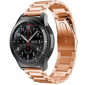 Samsung Galaxy Watch stalen band 45mm / 46mm (rosé goud)