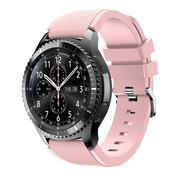 Strap-it® Samsung Galaxy Watch siliconen bandje 45mm / 46mm (roze)