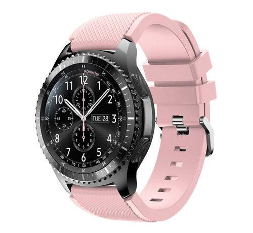 Strap-it® Strap-it® Samsung Galaxy Watch siliconen bandje 45mm / 46mm (roze)
