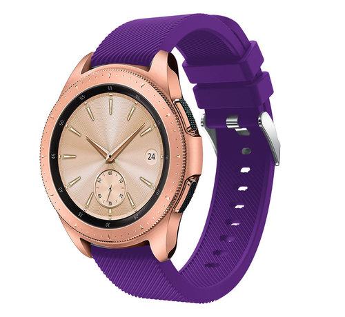 Strap-it® Strap-it® Samsung Galaxy Watch siliconen bandje 41mm / 42mm (paars)