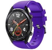 Huawei Watch GT siliconen bandje (paars)