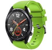 Strap-it® Huawei Watch GT siliconen bandje (lichtgroen)