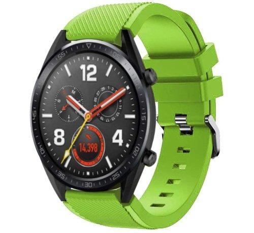 Strap-it® Strap-it® Huawei Watch GT siliconen bandje (lichtgroen)