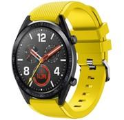 Huawei Watch GT siliconen bandje (geel)