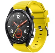 Strap-it® Huawei Watch GT siliconen bandje (geel)