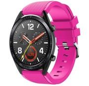 Huawei Watch GT siliconen bandje (knalroze)