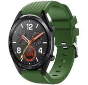 Huawei Watch GT siliconen bandje (legergroen)