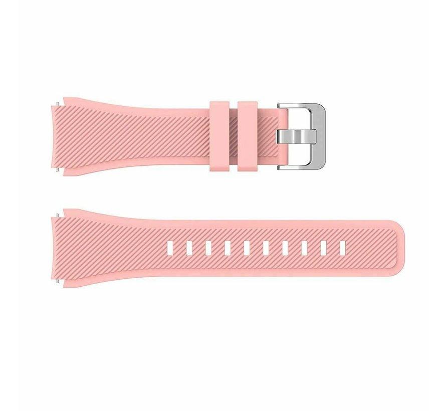 Strap-it® Huawei Watch GT siliconen bandje (roze)