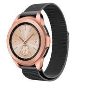 Samsung Galaxy Watch Milanese band 41mm / 42mm (zwart)