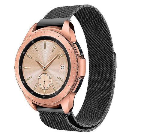 Strap-it® Strap-it® Samsung Galaxy Watch Milanese band 41mm / 42mm (zwart)