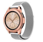 Strap-it® Samsung Galaxy Watch Milanese band 41mm / 42mm (zilver)