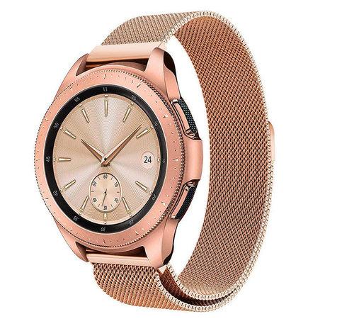 Strap-it® Strap-it® Samsung Galaxy Watch Milanese band 41mm / 42mm (rosé goud)