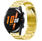 Strap-it® Huawei Watch GT stalen band (goud)