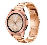 Samsung Galaxy Watch stalen band 41mm / 42mm (rosé goud)