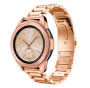 Samsung Galaxy Watch stalen band 42mm (rosé goud)