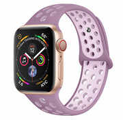 Strap-it® Apple Watch sport+ band (lichtpaars)