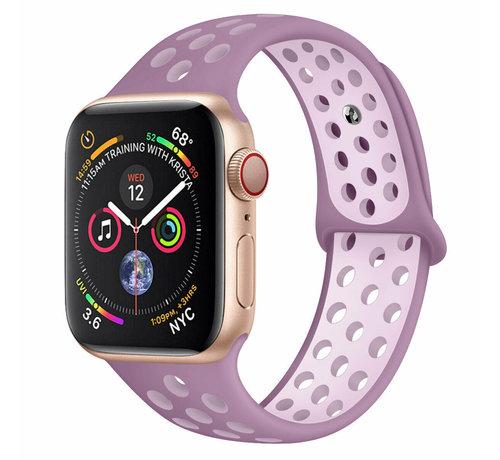 Strap-it® Strap-it® Apple Watch sport+ band (lichtpaars)