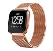 Fitbit Versa Milanese band (rosé goud)