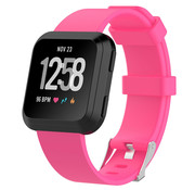 Strap-it® Fitbit Versa silicone band (roze)