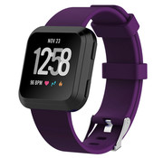 Fitbit Versa silicone band (donkerpaars)