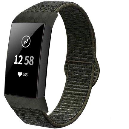 Fitbit Charge 4 nylon bandjes