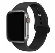 Apple Watch silicone bandje (zwart)