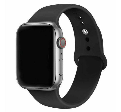 Strap-it® Strap-it® Apple Watch silicone bandje (zwart)