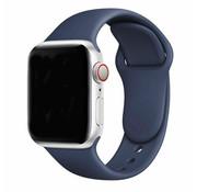 Apple Watch silicone bandje (blauw)