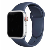 Strap-it® Apple Watch silicone bandje (blauw)