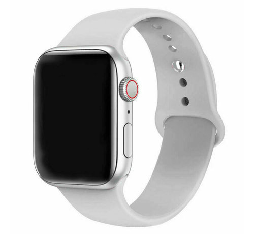 Strap-it® Strap-it® Apple Watch silicone band (grijs)