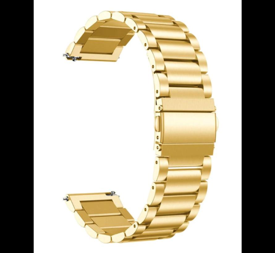 Strap-it® Garmin Vivomove HR stalen band (goud)