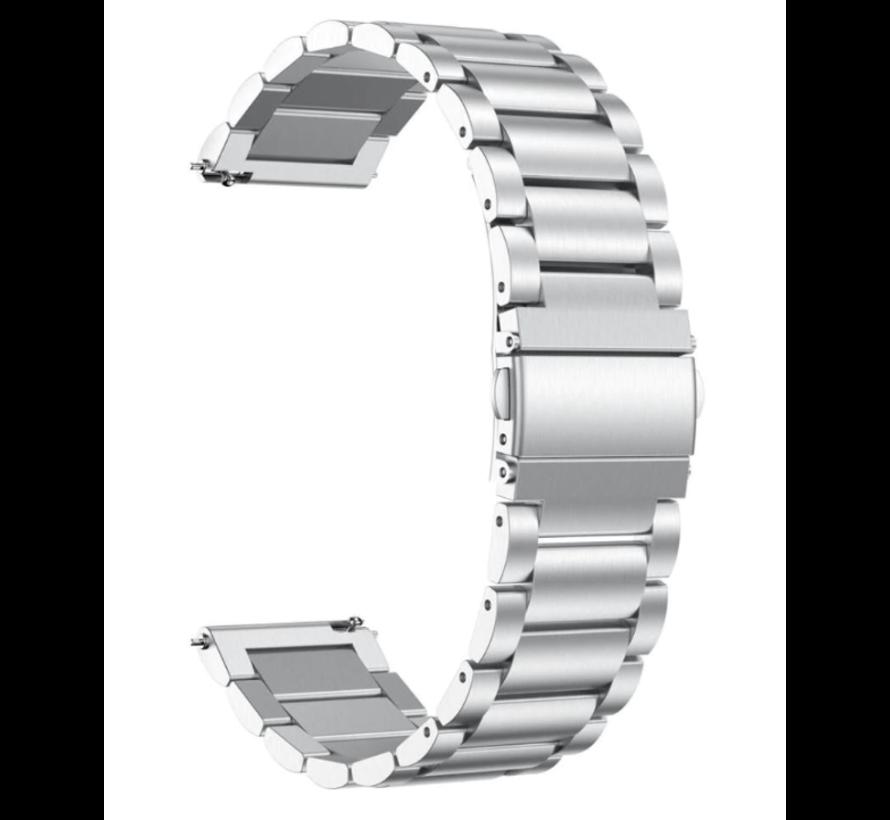 Strap-it® Garmin Vivomove HR stalen band (zilver)