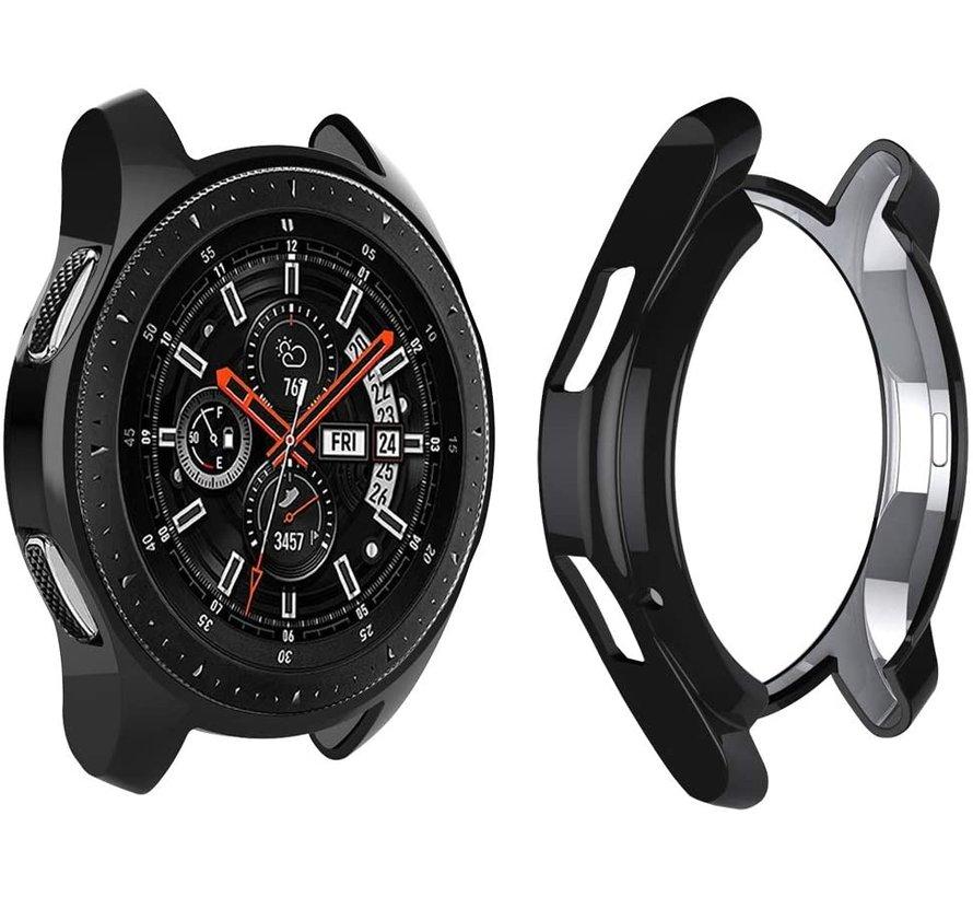 Samsung Galaxy Watch silicone case 46mm (zwart)