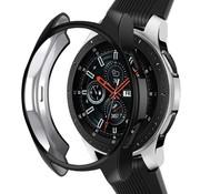 Strap-it® Samsung Galaxy Watch silicone case 46mm (zwart)