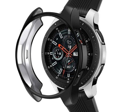 Strap-it® Strap-it® Samsung Galaxy Watch silicone case 46mm (zwart)