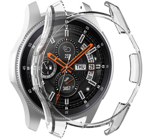 Strap-it® Strap-it® Samsung Galaxy Watch silicone case 46mm (transparant)